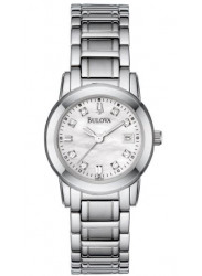 Bulova Women's Diamond Mother of Pearl Dial Watch 96P107