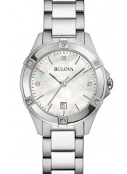 Bulova Women's Mother Of Pearl Dial Watch 96R205