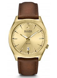 Bulova Men's Accutron II Brown Leather Watch 97B132