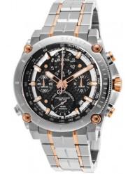 Bulova Men's Precisionist Chronograph Black Dial Watch 98G256