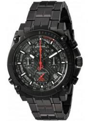 Bulova Men's Precisionist Chronograph Black Stainless Steel Watch 98G257