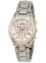 Bulova Women's Anabar Chronograph Watch 98R149