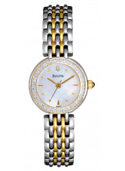 Bulova Women's Diamond Petite Classic Watch 98R151