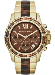 Michael Kors Women's Everest Chronograph Brown Dial Watch MK5873