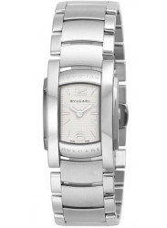 Bulgari Women's Silver Dial Stainless Steel Watch AA35C6SS
