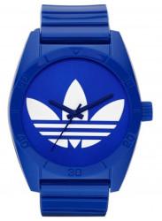 Adidas Unisex Santiago Blue Dial Blue Rubber Watch ADH2656