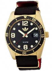 Adidas Men's Brisbane Black Polyester Strap Watch ADH2865