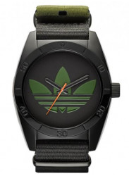 Adidas Men's Santiago Black Polyester Strap Watch ADH2875