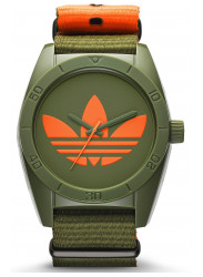 Adidas Santiago Men's Green Polyester Strap Watch ADH2876
