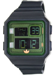 Adidas Men's Santiago  Digital Dial Black Silicone Watch ADH2883