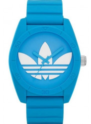 Adidas Unisex Santiago Blue Rubber Watch ADH6171