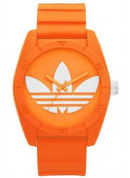 Adidas Unisex Santiago Orange Rubber Watch ADH6173
