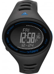 Adidas Men's AdiZero Digital Black Rubber Watch ADP3504