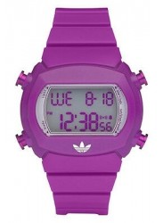 Adidas Unisex Digital Purple Silicone Watch ADH6112