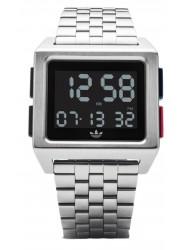 Adidas Men's Archive M1 Digital Silver Stainless Steel Watch Z01 2924-00