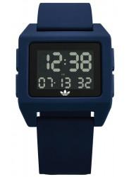 Adidas Men's Archive SP1 Digital Collegiate Navy Rubber Watch Z15 3203-00