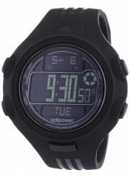 Adidas Men's Digital Dial Black Rubber Strap Watch ADP3121
