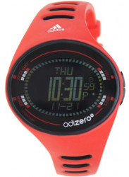 Adidas Men's Digital Dial Red Rubber Watch ADP3512