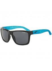 Arnette Men's Witch Doctor Polarized Grey Rectangular Sunglasses AN4177 216281-59