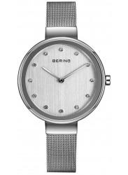 Bering Women's Silver Dial Stainless Steel Watch 12034-000