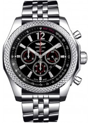Breitling Men's Bentley Barnato Chronograph Stainless Steel Watch A4139024-BB82-984A
