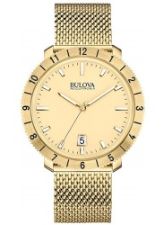 Bulova Accutron II  Men's Gold Tone Watch 97B129