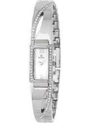 Bulova Women's Crystal Mother of Pearl Dial Watch 96T63