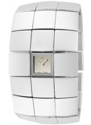 Calvin Klein Women's Disco Silver Dial Watch K4022116