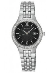 Seiko Women's Black Dial Watch SUR761