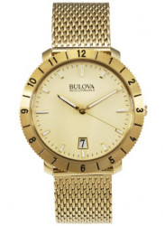 Bulova Accutron II  Men's Gold Tone Watch 97B129