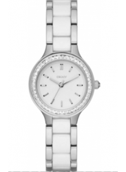 DKNY Women's Chambers White Dial Two Tone Watch NY2494