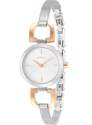 DKNY Women's Silver Dial Two Tone Watch NY2137