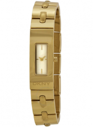 DKNY Women's Beekman Champagne Dial Gold Tone Watch NY2139