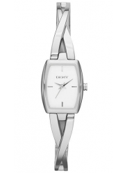 DKNY Women's Crosswalk White Dial Stainless Steel Watch NY2234
