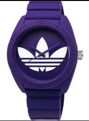 Adidas Unisex Santiago Purple Rubber Watch ADH6175