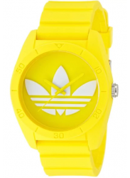 Adidas Unisex Santiago Yellow Rubber Watch ADH6174