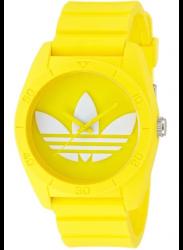 Adidas Unisex Santiago Yellow Rubber Watch ADH6174
