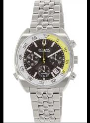 Bulova Men's Chronograph Black Dial Watch 96B237