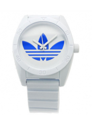 Adidas Men's Santiago White Rubber Watch ADH2704