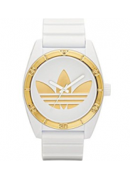 Adidas Men's Santiago White Rubber Watch ADH2808