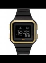 Adidas Unisex Digital Dial Black Rubber Watch DH4023