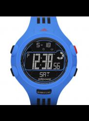 Adidas Men's Digital Dial Blue Rubber Strap Watch ADP3122