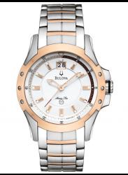 Bulova Men's Marine Star Two Tone Watch 98B129