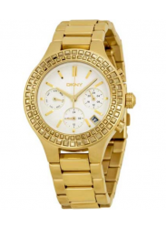 DKNY Women's Chambers Chronograph Gold Tone Watch NY2259