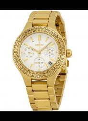 DKNY Women's Chambers Chronograph Gold Tone Watch NY2259