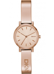 DKNY Women's Rose Dial Rose Gold Tone Watch NY2308