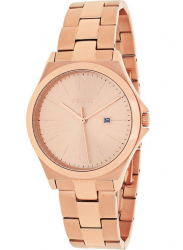 DKNY Women's Parsons Rose Dial Rose Gold Tone Watch NY2367