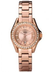 Fossil Women's Riley Rose Gold Watch ES2889