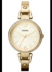 Fossil Women's Georgia Gold Dial Gold Tone Watch ES3227