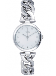 Fossil Women's Silver Dial Stainless Steel Watch ES3390